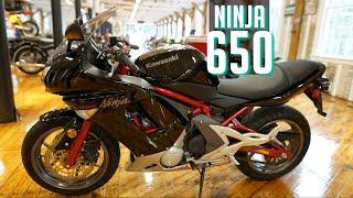 4. 2006 Kawasaki Ninja 650 R  LIKE NEW LOW  MILES MINT EX650A6F