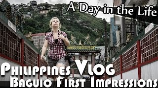 Baguio Philippines  city images : BAGUIO PHILIPPINES - FIRST IMPRESSIONS ROAD TRIP VLOG (ADITL EP96)