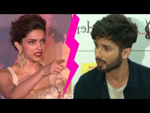 Oh ! Deepika Padukone insults Shahid Kapoor for bf Ranveer Singh on Padmavati Promotions !