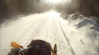 9. 2012 ski doo xrs 800 etec riding fast and hard in the twistys HD