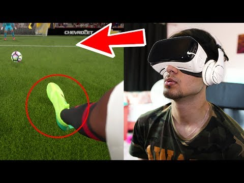 What Happens If You PLAY In Virtual REALITY?! (FIFA 17 Myths)