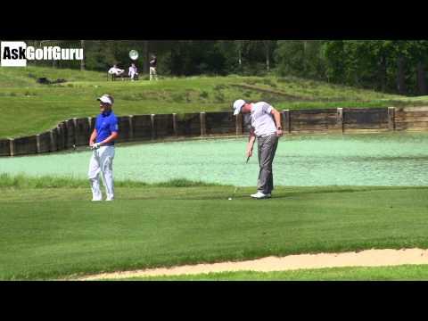 Luke Donald Pitching Golf Game Part 4