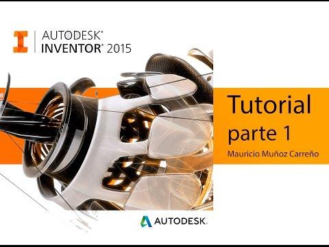 Tutorial Inventor 2015 - audio español (parte 1)