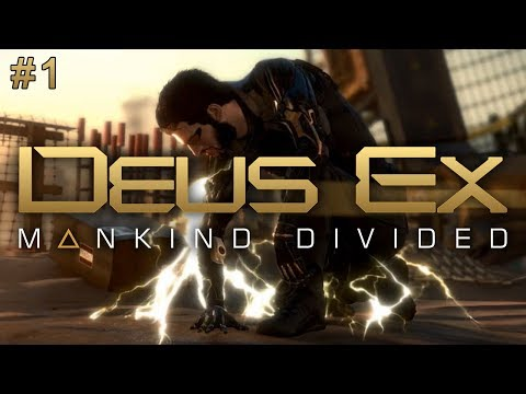 Deus Ex: Mankind Divided (Ep. 1 – Desert Jewel)