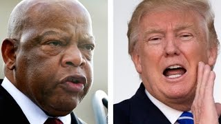 """Why Trump Assumes John Lewis's District Is """"Crime-Infested"""""""