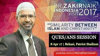 Video Dr. Zakir Naik Indonesia Visit 2017    Full Q&A Session (8th April 17) MP3, 3GP, MP4, WEBM, AVI, FLV September 2017