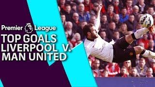 Liverpool v. Man United | Top Premier League Goals | NBC Sports
