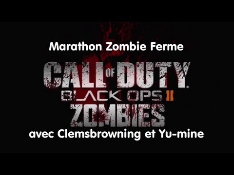 Marathon Zombie sur Ferme avec Yumine et Clemsbrowning