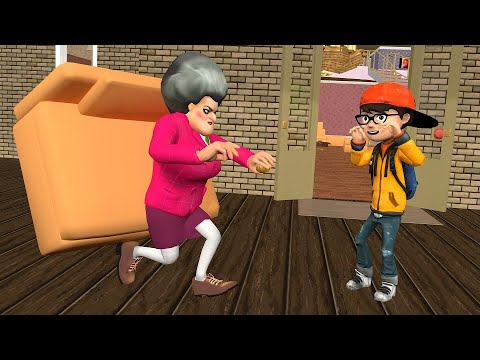 Scary Teacher 3D Glue Prank Gameplay and animation |VMAni Funny|