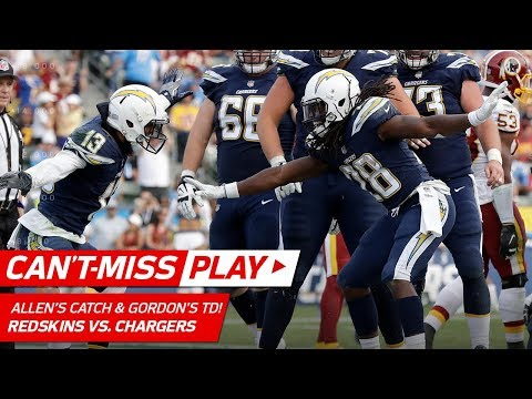 Video: Keenan Allen's Amazing Flea-Flicker Catch & Melvin Gordon's TD Blast! | Can't-Miss Play | NFL Wk 14
