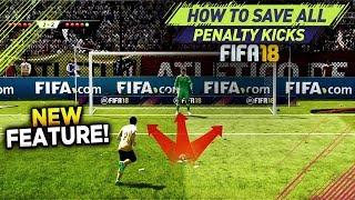 Video FIFA 18 SAVE ALL PENALTY KICKS TUTORIAL! 100% WORKING TRICK TO DEFEND PENALTIES MP3, 3GP, MP4, WEBM, AVI, FLV Agustus 2018