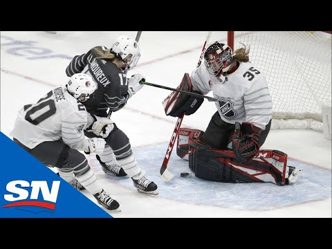 2020 NHL All-Star Skills Competition Elite Women39s 3-on-3 Game