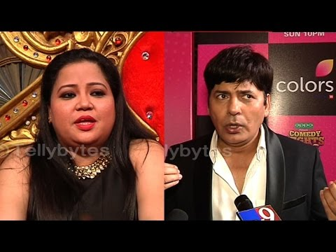 Bharti and Sudhesh talks about comedy nights bacha