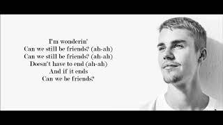 Video Justin Bieber - Friends (Lyrics) MP3, 3GP, MP4, WEBM, AVI, FLV April 2018