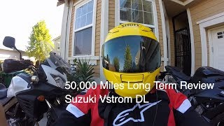 7. 50,000 Miles Long Term Review - Suzuki QUALITY - Any Good ? Suzuki VSTROM 650