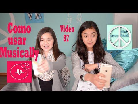 COMO USAR MUSICAL.LY Musically  Video 87 Xime Ponch (видео)