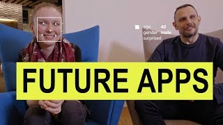 Hey, Instead of talking about Best Android apps, let's talked about the future, today. The app that doesn't really exist, but I would love to see them in the futureVideo CreditsMicrosoft seeing AIGoogle mapshttp://theuglydance.com/You can reach me hereWebsite - http://techwiser.com/YouTube - https://www.youtube.com/techwiserFacebook -https://www.facebook.com/techwiserTwitter - https://twitter.com/TechWiserInstagram - https://www.instagram.com/techwiserWhich background music did I use?Broke For Free - Day Birdhttps://brokeforfree.bandcamp.com/track/day-birdWhat camera do I use? Canon 70DWhat Camera Microphones do I use?Blue Yeti and Video Mic pro (depends on requirement)What tripod do I use?Manfrotto MVKBFRWhat video editor do I use?Final Cut ProMy computer do I use?iMac 2015 for editing and a ThinkPad for casual work