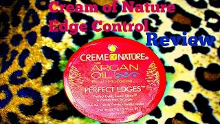 Creme of Nature Perfect Edges Review - YouTube