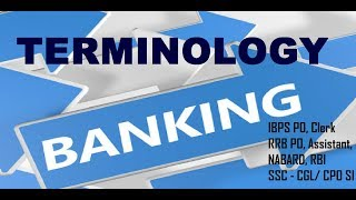 In this video we shall discuss Banking Terminology. Most of the exams including Bank Examinations like IBPS - PO and Clerk , RAILWAYS,SSC, BANK PO, RRB PO, RBI CLERK, SSC MTS, LIC, RBI and other competitive exams consist of questions from this topic and many students facing difficulty while solving these questions. Here, We tried to help you by providing these daily videos. You will definitely find change in your speed and accuracy while solving these type of questions.**************************************************Subscribe Us :   https://www.youtube.com/channel/UCKQ5AV1FRAVRy381SVlsDqQ?sub_confirmation=1**************************************************Like & Follow Our Facebook Page: https://www.facebook.com/fuelupacademy/Follow us on Twitter: https://twitter.com/fuelupacademyFollow us on Instagram : https://www.instagram.com/fuelupacademy/*********************************************Contact : info@fuelupacademy.com,  fuelupacademy@gmail.com*********************************************Web : www.fuelupacademy.com