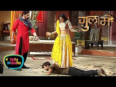 Veer Makes Shivani Dance On Rangeela   Ghulaam   �