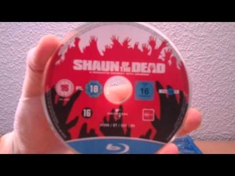 Shaun Of The Dead (Blu-ray) Unboxing [German/Deutsch]