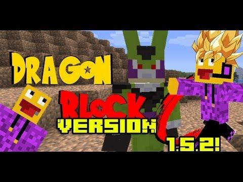 Mod Dragon Ball Z Minecraft 1.5.2 - Review e Instalación - Español