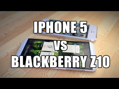 BlackBerry Z10 против iPhone 5. Сравнение AppleInsider.ru