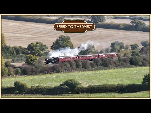 Pannier Tank 9466 In The Chiltern Hills: The Dennis Howells Memorial Train - 20th October 2018