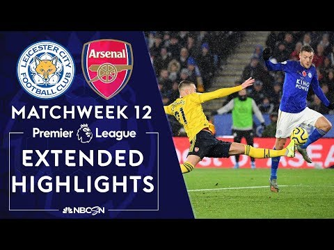 Leicester City v. Arsenal | PREMIER LEAGUE HIGHLIGHTS | 11/09/19 | NBC Sports