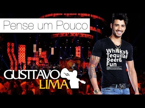 Tekst piosenki Gusttavo Lima - Pense Um Puoco po polsku