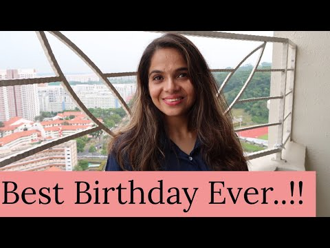 Birthday wishes for best friend - Best Ever Birthday  Amazing Gifts  Singapore Birthday Vlogs  Shubzzz Vlogs