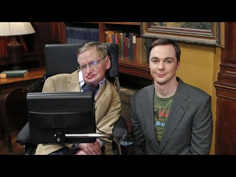 Jim Parsons says it was intimidating to work with Stephen Hawking