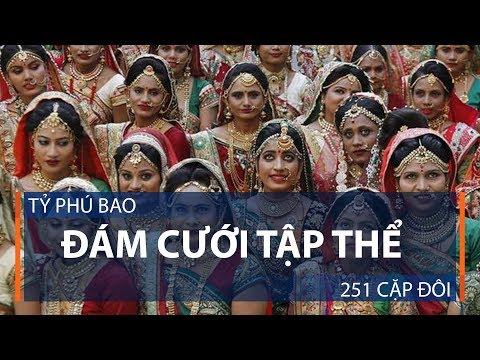 Tỷ phú bao đám cưới tập thể 251 cặp đôi | VTC1 - Thời lượng: 49 giây.