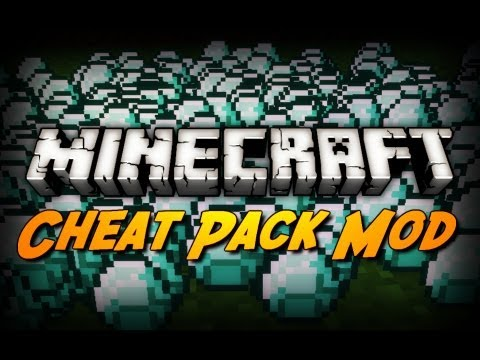 Minecraft Mod Review: CHEAT PACK MOD! (Insane Enchantments, Potion Effects, Etc)