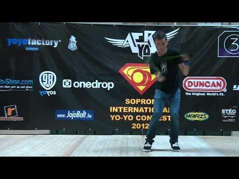 IV. Sopron International Yo-Yo Contest 2012 1A Semi-Pro 2th Place: Horváth Áron