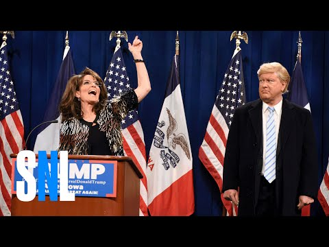 SNL: Sarah Palin Shows Off The Crazy For Trump