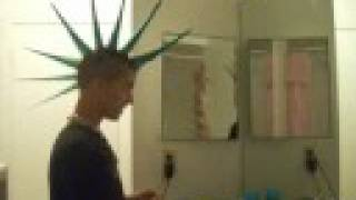 Video How to make a liberty spike Mohawk MP3, 3GP, MP4, WEBM, AVI, FLV Juli 2018