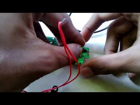 Laser sensor using computer mouse