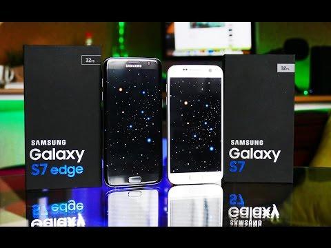Samsung Galaxy S7 против S7 Edge (видео)