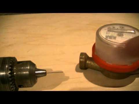 Как остановить водяной счетчик без магнита в домашних условиях