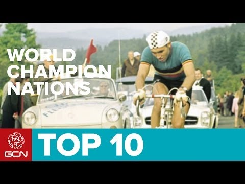 Top 10 Road Cycling World Championship Nations