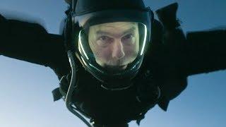 """トム・クルーズが長年の夢を実現させた究極のスタント""""HALOジャンプ""""/映画『ミッション:インポッシブル/フォールアウト』本編映像"""