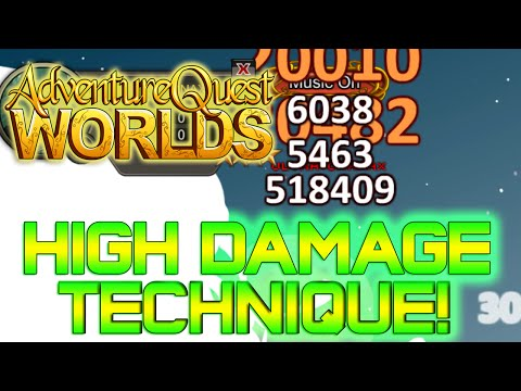 AQWorlds High Damage Technique!