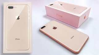 Video Gold iPhone 8 Plus Unboxing & First Impressions! MP3, 3GP, MP4, WEBM, AVI, FLV November 2017