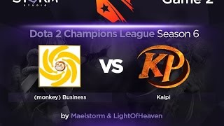 mBusiness vs Kaipi, game 2
