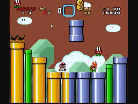how to patch super mario world rom