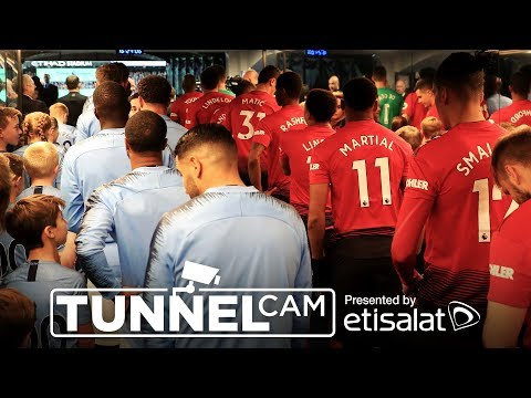 Video: TUNNEL CAM | Manchester City 3-1 Manchester United