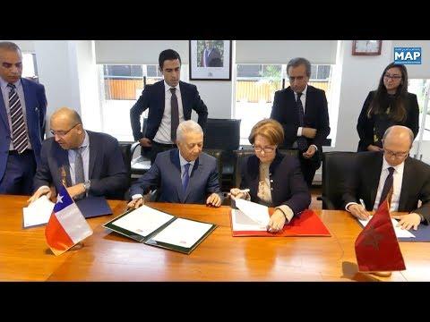 تعزيز الخدمات الجوية بين المغرب والشيلي محور إعلان نوايا وقعه البلدان بسانتياغو