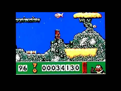 James Pond on Acorn Archimedes. Gameplay & Commentary