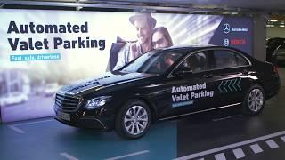 Daimler lance un système de stationnement automatique de voitures
